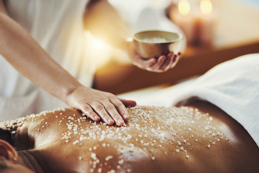 Wellness massage treatment